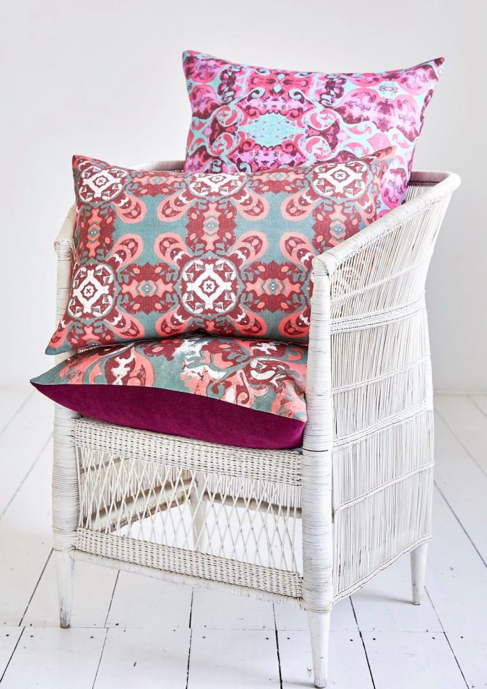 Cushions from the Heritage range