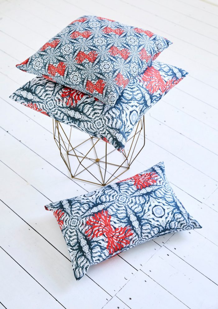 Cushions from the Ripples range